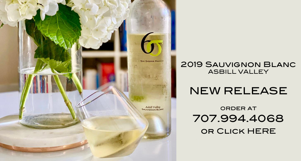 2019 Six Sigma Sauvignon Blanc Asbill Valley-New Release