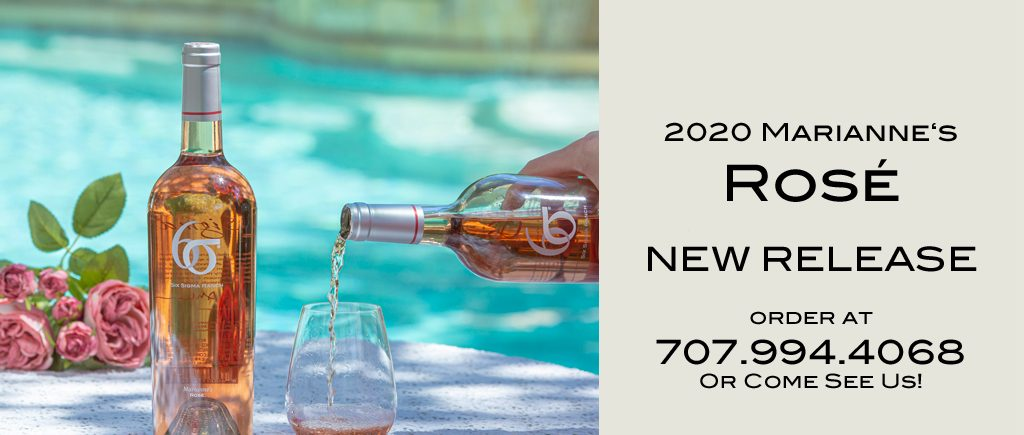New release of Six Sigma Rose wine