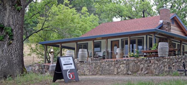 Tasting room at Six Sigma Winery