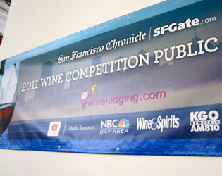 SF Chonicle Wine Competition Banner