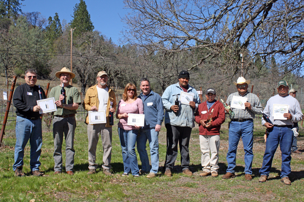 Winners of Pruning Competition at Six Sigma Ranch